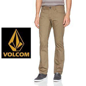 Volcom Vorta Slim Straight Jeans - 33Wx30L